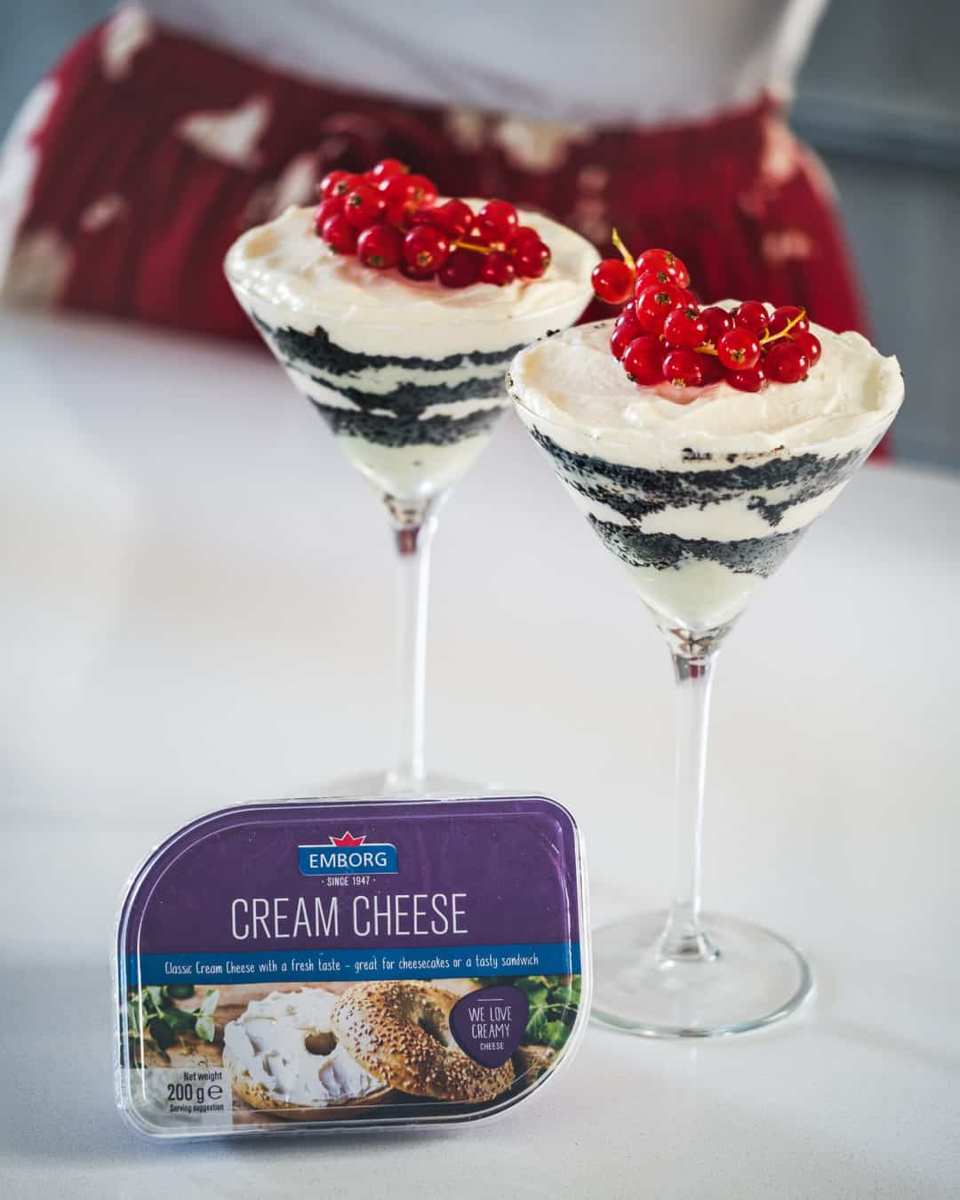 Cheese recipes Whatinstore, cheesecake with biscuits